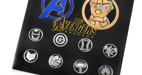Marvel Avengers Endgame Disney Store Japan Pin Set