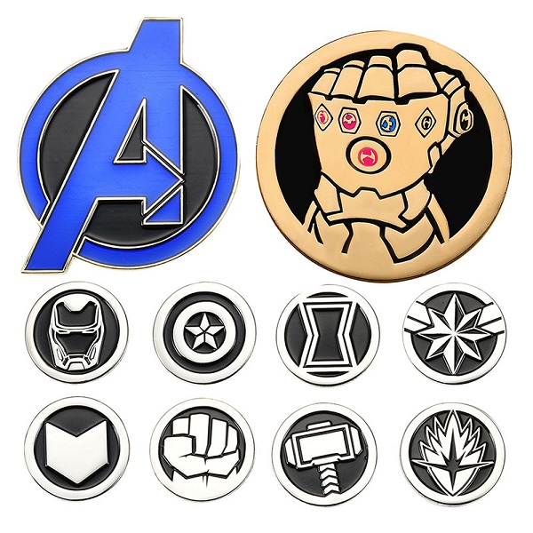 Marvel Avengers Endgame Disney Store Japan Pins
