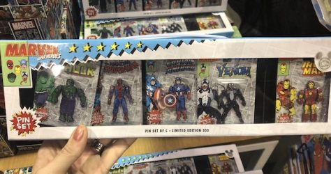 Marvel Superheros Pin Set - D23 Expo 2019