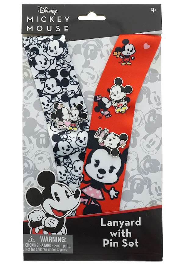 Mickey D23 Lanyard Set