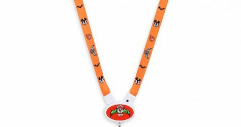 Mickey Mouse Halloween 2019 Light-Up Lanyard