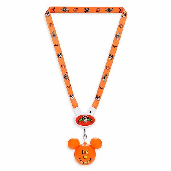 Mickey Mouse Halloween 2019 Light-Up Lanyard