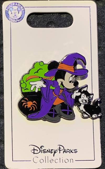 Minnie Mouse Witch Halloween 2019 Pin