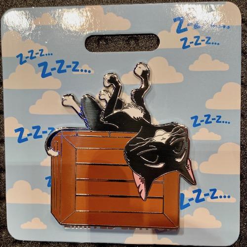 Mittens Cat Nap WDI Pin