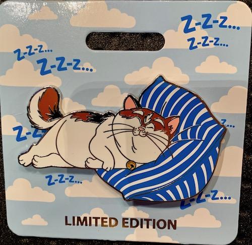 Mochi Cat Nap WDI Pin