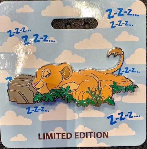 Nala Cat Nap WDI Pin