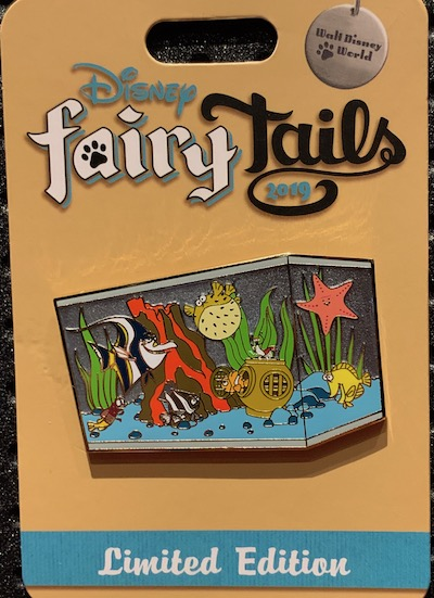 Nemo & Tank Friends Disney FairyTails Pin