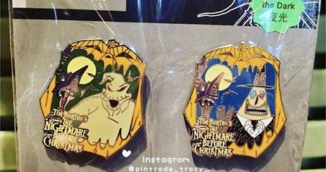 Nightmare Before Christmas 2019 HKDL Pin Set