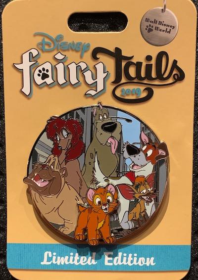 Oliver & Company Disney FairyTails Pin