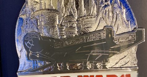 Opening Day Star Wars Galaxy's Edge Jumbo Pin - Closer Look