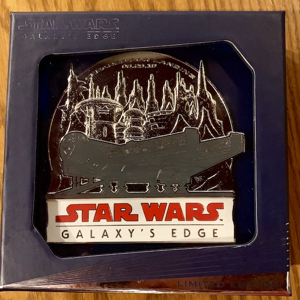 Opening Day Star Wars Galaxy's Edge Jumbo Pin