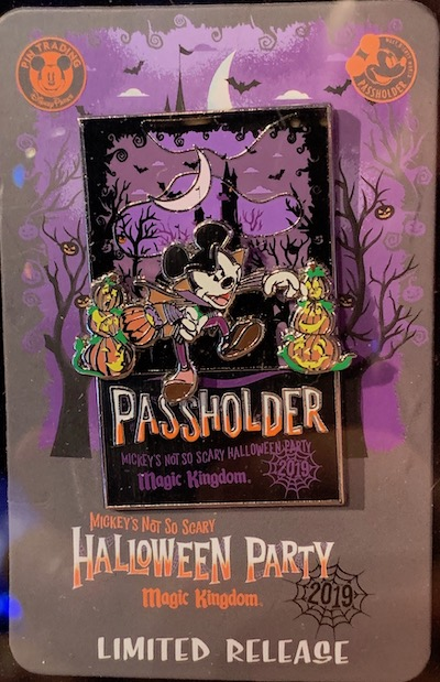 Mickeys Halloween Party Annual Passholder Pins 2020 Mickey's Not So Scary Halloween Party 2019 Pins   Disney Pins Blog