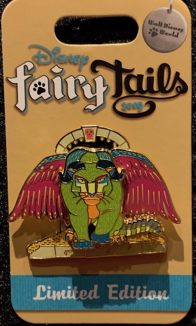 Pepita's Purr-fect Flight Disney FairyTails Pin