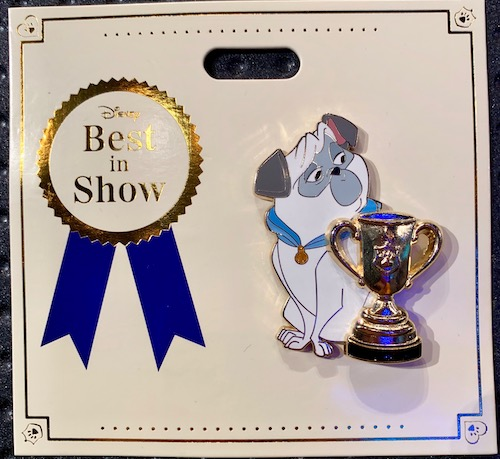Percy Best in Show WDI Pin