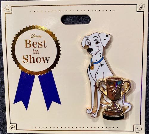 Perdita Best in Show WDI Pin