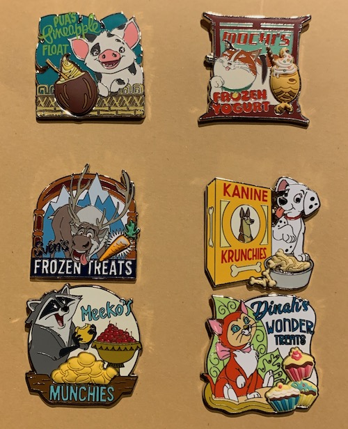 Pet Treats Disney FairyTails Pin Set