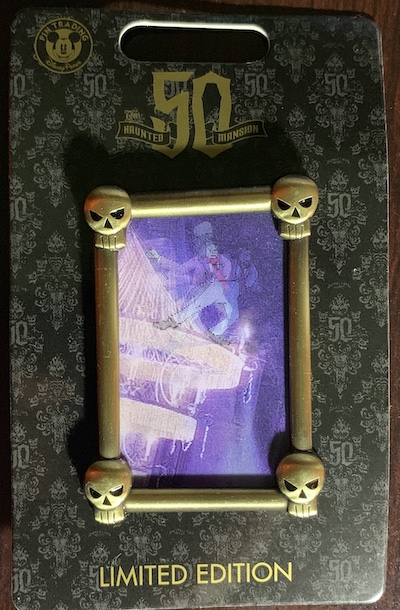 Pickwick Lenticular Haunted Mansion Pin