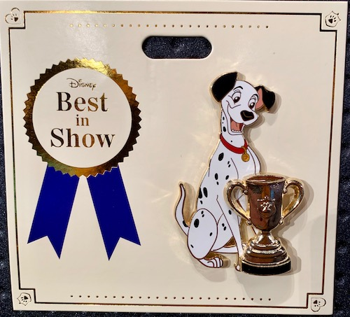 Pongo Best in Show WDI Pin