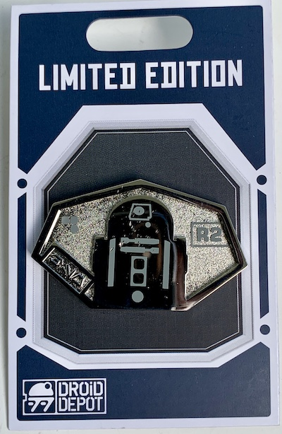 R2 Star Wars Galaxy's Edge Droid Depot Pin
