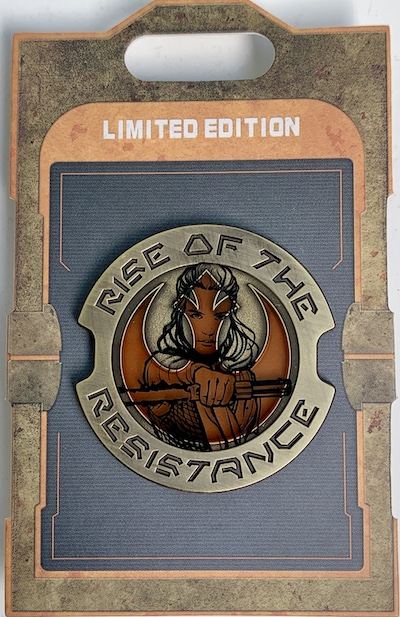 Rey Rise of the Resistance Wars Galaxy's Edge Pin