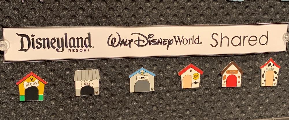 Shared Disney Hidden Mickey Pins 2019 Wave C