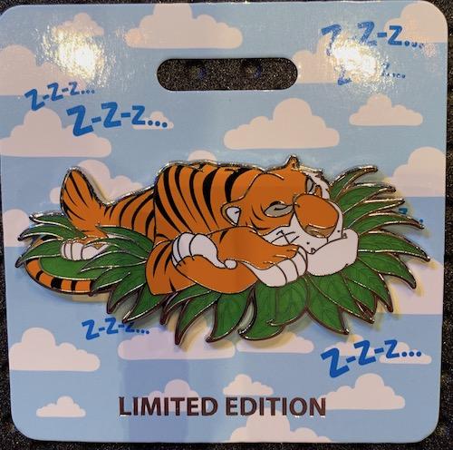 Shere Khan Cat Nap WDI Pin