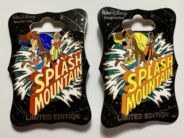Splash Mountain 30th Anniversary Logo WDI Pins