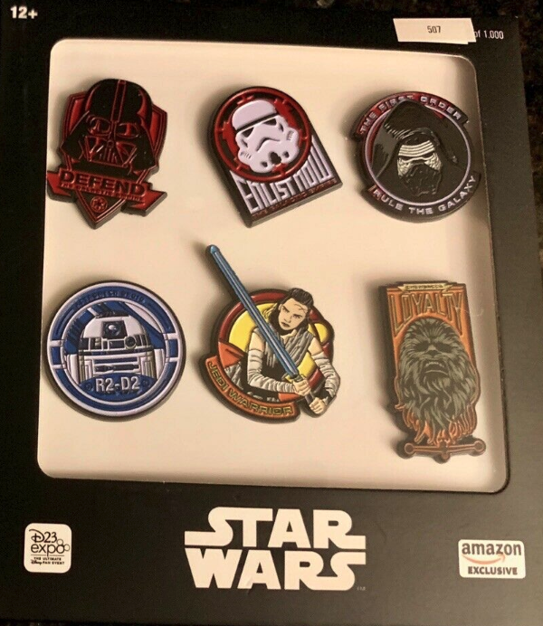Star Wars Amazon Exclusive Pin Set - D23 Expo 2019