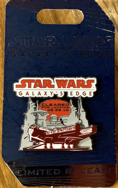 Star Wars Galaxy's Edge WDW Opening Day Pin