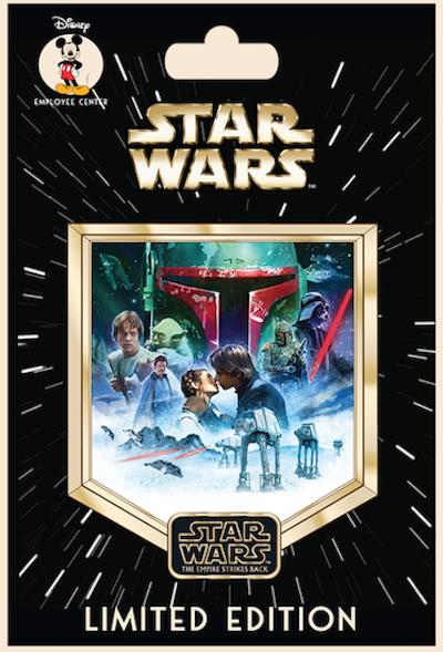 Star Wars The Saga Episode 5 Employee Center Pin