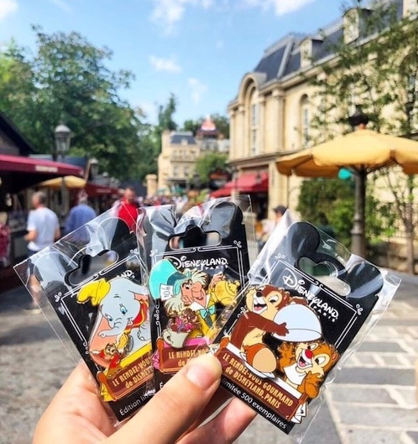 Surprise LE 500 Le Rendez-vous Gourmand de Disneyland Paris Pins