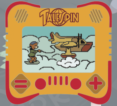 TaleSpin I Heart Gaming Disney Pin