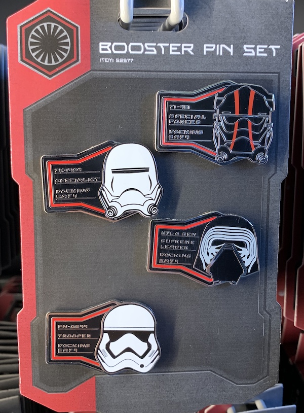 The First Order Booster Pin Set