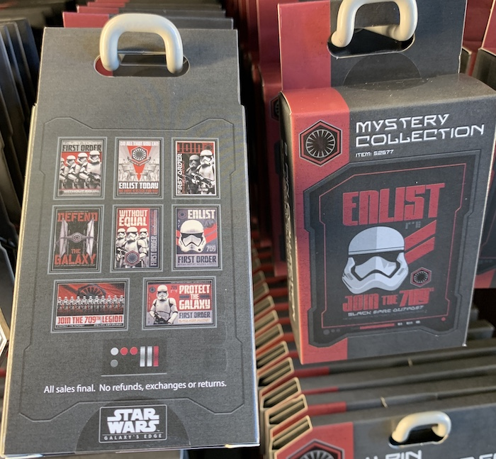 The First Order Mystery Pin Collection