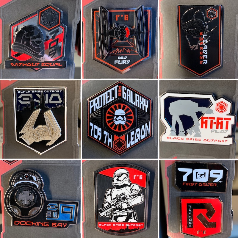 The First Order Open Edition Disney Pins