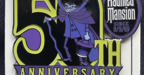 The Haunted Mansion 50th Anniversary Cast Member Pin
