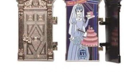 The Haunted Mansion 50th Anniversary Club 33 Disney Pin #3