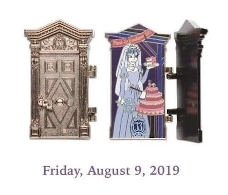The Haunted Mansion 50th Anniversary Club 33 Disney Pin #3