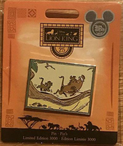 The Lion King PWP Disney Store Pin