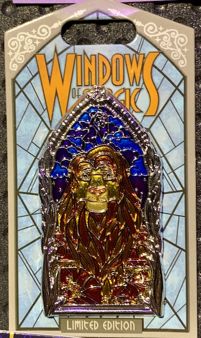 The Lion King Windows of Magic Pin