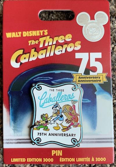 The Three Caballeros PWP Disney Store Pin