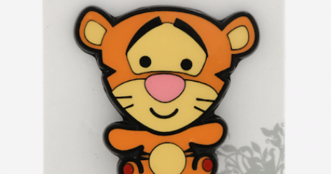 Tigger Chibi Moving Tail BoxLunch Disney Pin