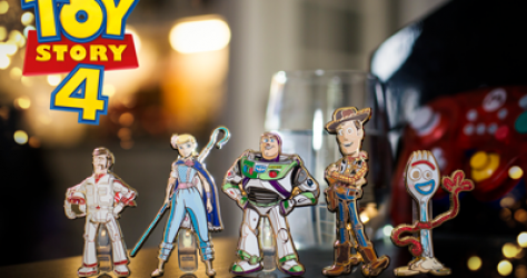 Toy Story 4 FiGPiN Pins