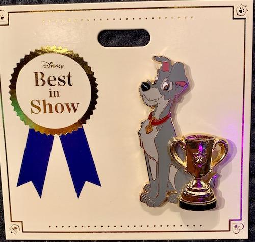 Tramp Best in Show WDI Pin