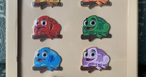 Where's Pascal? Scavenger Hunt Pin Set