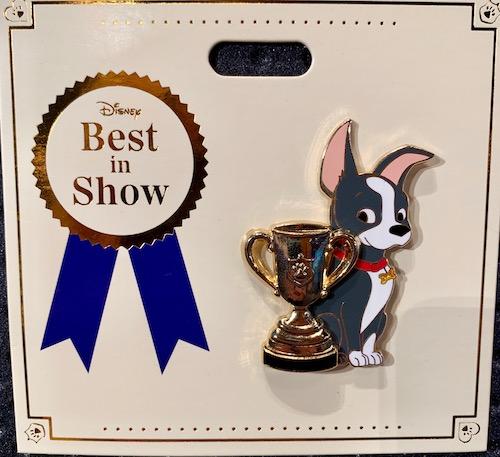 Winston Best in Show WDI Pin