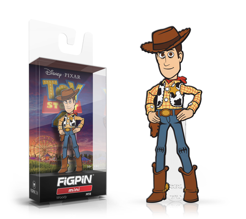 Woody Toy Story 4 FiGPiN Mini Pin