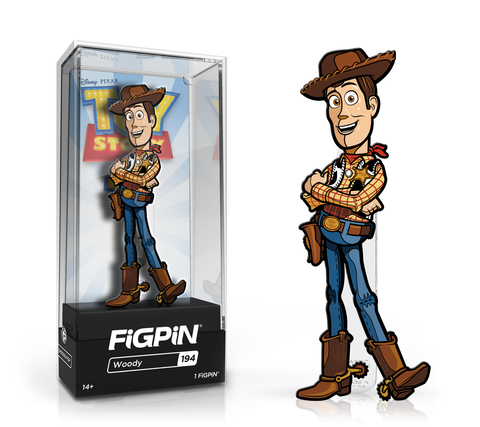 Woody Toy Story 4 FiGPiN Pin