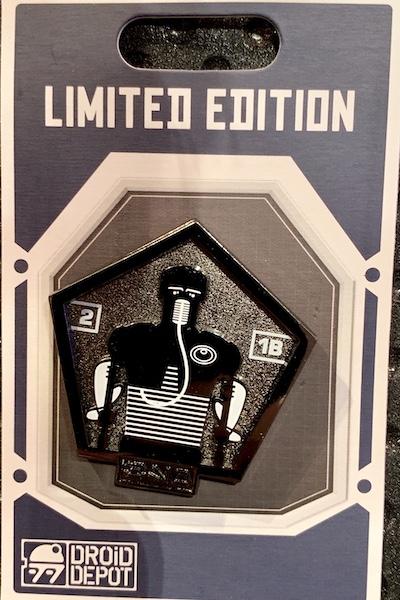 2-1B Star Wars Galaxy's Edge Droid Depot Pin