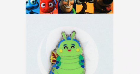 A Bug's Life Heimlich Butterfly BoxLunch Disney Pin